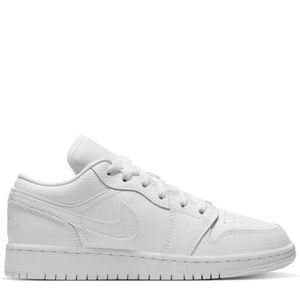 "⚪️*NEW* Air Jordan 1 Low ""Triple White"" (GS)"